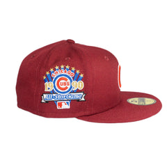 Chicago Cubs Merlot All- Star Fitted Hat