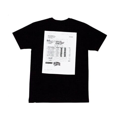 BBC X LDRS Tee Black - leaders1354