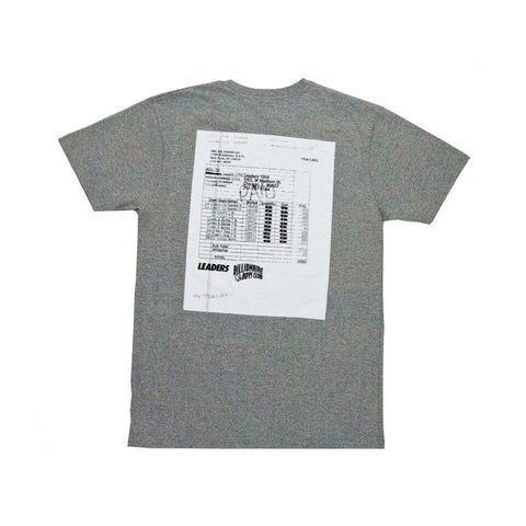BBC X LDRS Tee Grey - leaders1354