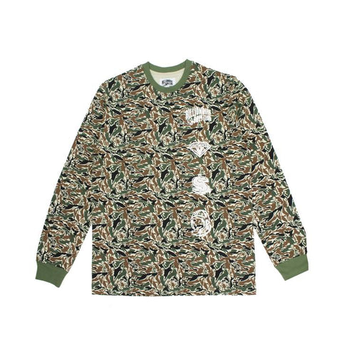 BBC Camo Space L/S Tee - leaders1354