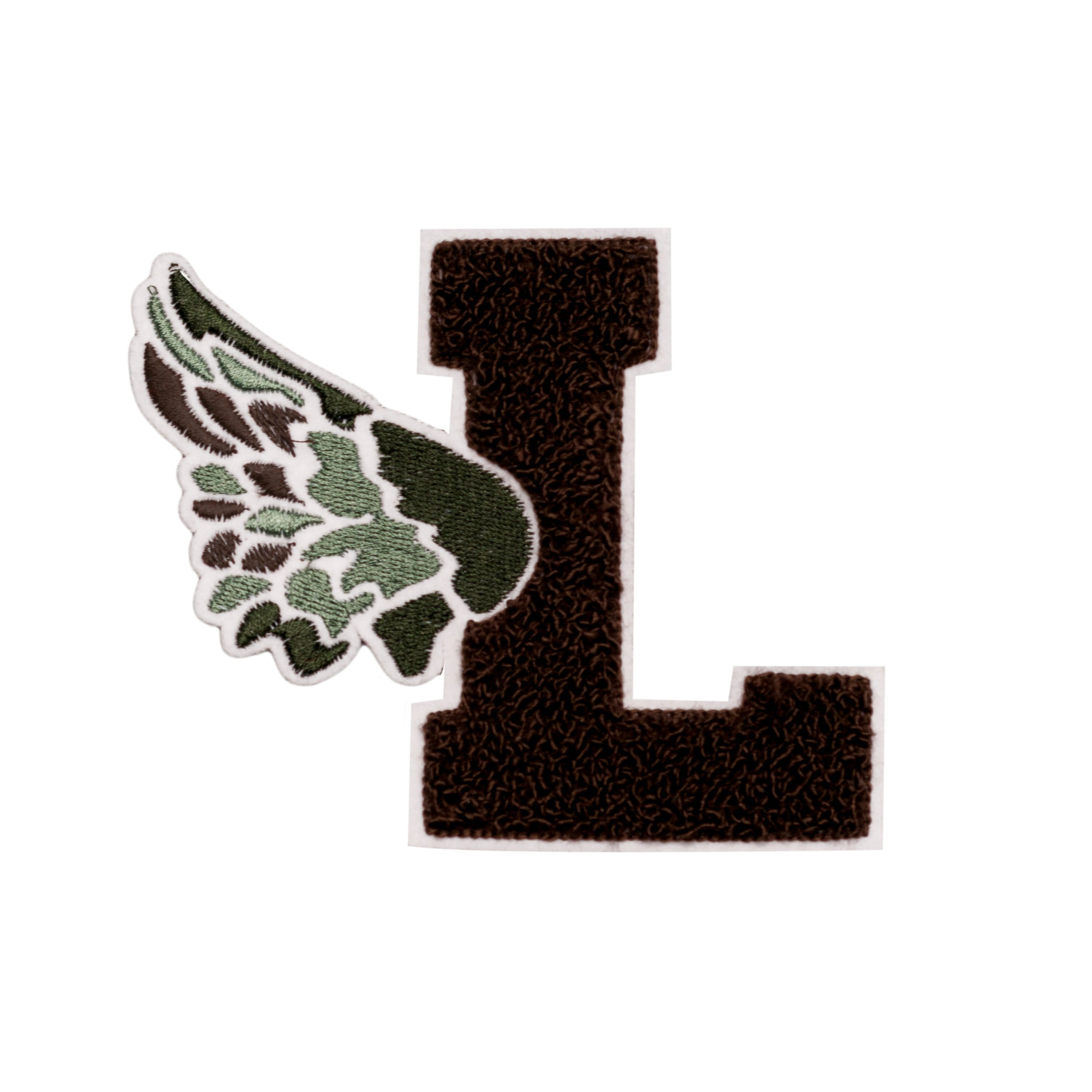 Black L Wing Patch - leaders1354