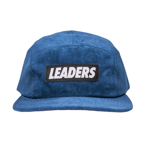 LDRS Suede 5 Panel Blue - leaders1354