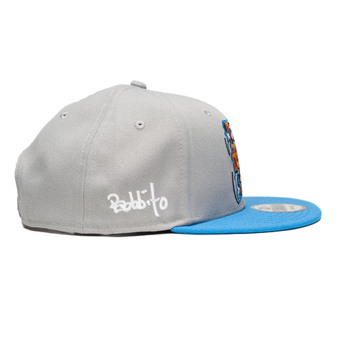Leaders x Bobbito Hats Blue Snapback - leaders1354