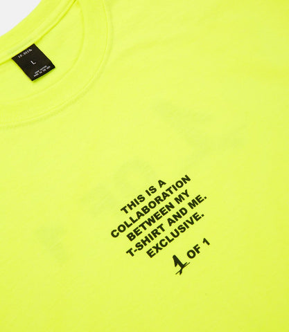 Collab Tee Neon Yellow