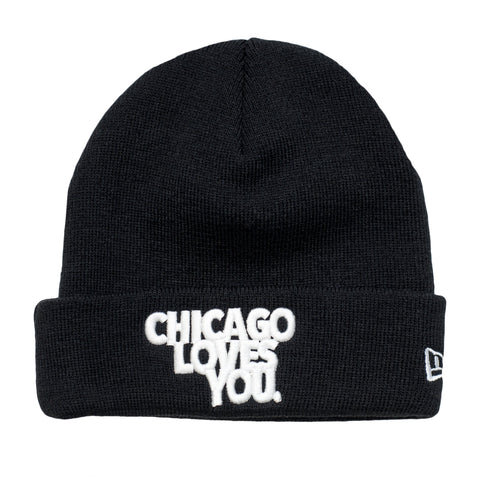 Leaders Chicago Loves You Beanie Black - leaders1354