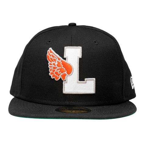 Leaders X Fake Decent Fitted Black Hat - leaders1354