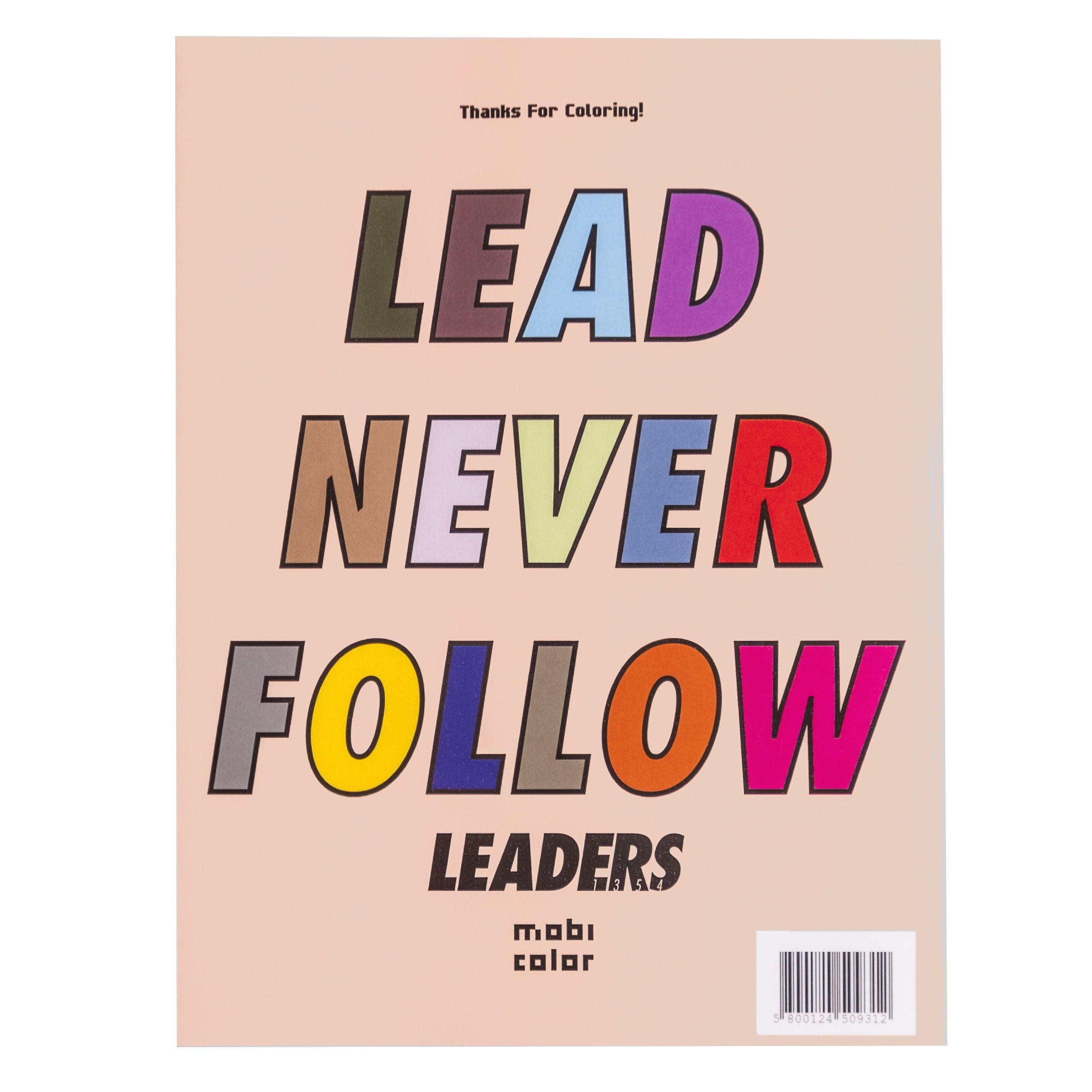 Leaders Mobi Coloring Book (15 Pages) - leaders1354