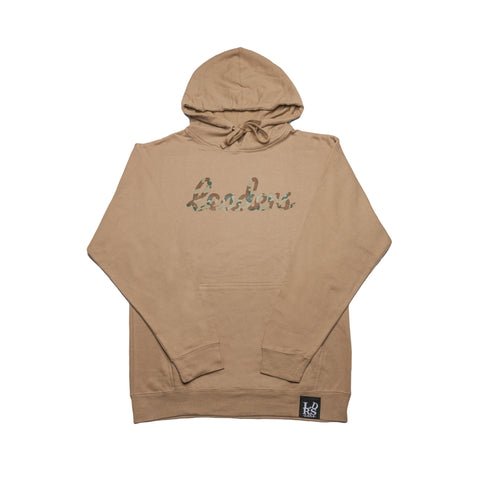 Leaders Cursive Camo Pullover - leaders1354