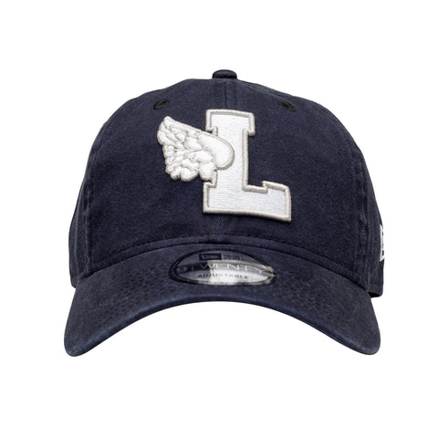 L Wing Dad Hat Navy - leaders1354