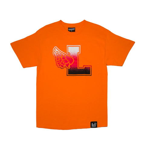 Fade To Black Tee Orange