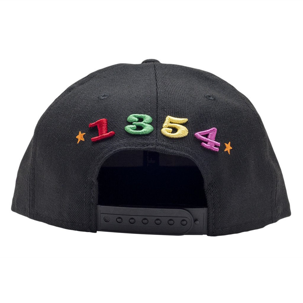Leaders Multi Color Interlock Logo Snapback