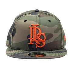 Leaders Interlock Logo Camouflage Fitted