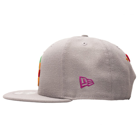 Leaders Interlock Logo Multi-Color Snapback