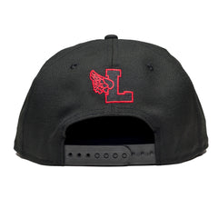 Hyde Park Snapback Black/Red - leaders1354