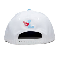 Hyde Park Snapback White/Blue/Red - leaders1354