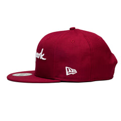 Hyde Park Snapback Burgandy - leaders1354