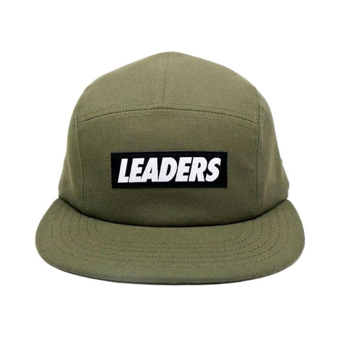 Wool Five Panel Olive - leaders1354