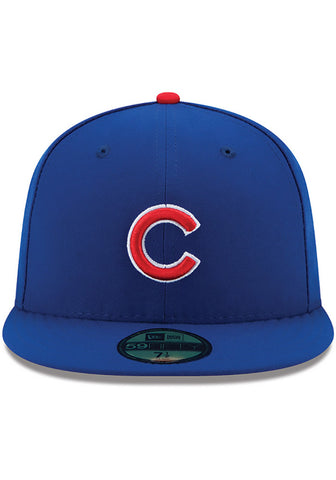 Chicago Cubs On Field Fitted Hat