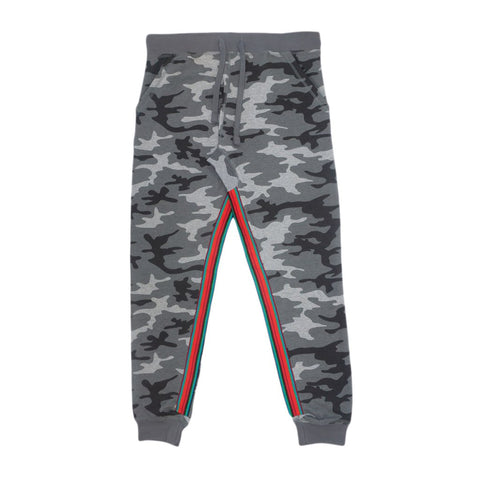Dirty Joggers Stone Camo Prism Tape Stripe