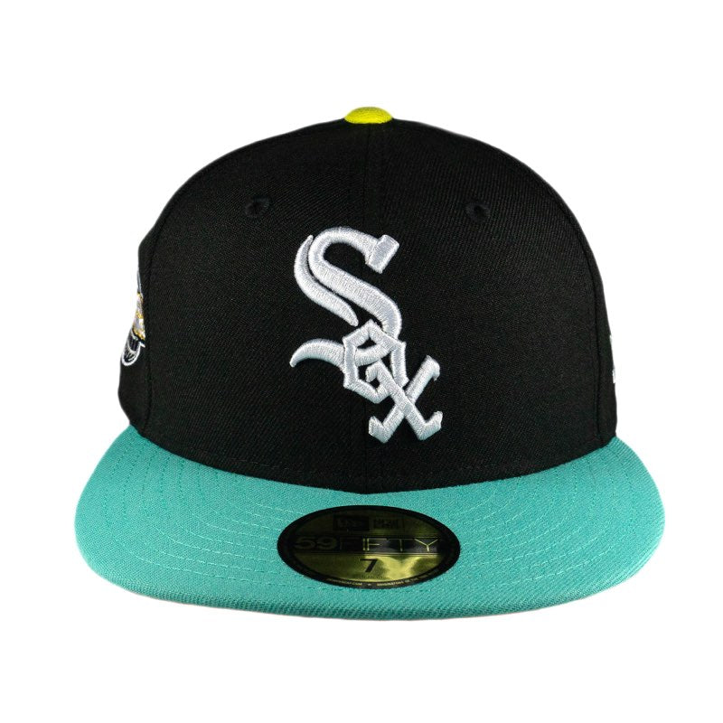 Chicago White Sox Mint World Series Side Patch Fitted Hat