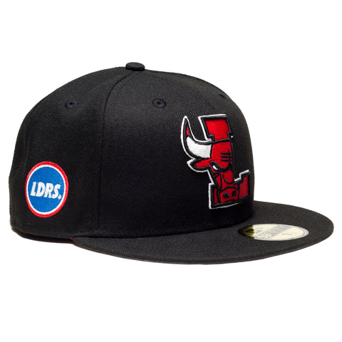 L-horn Fitted Black - leaders1354