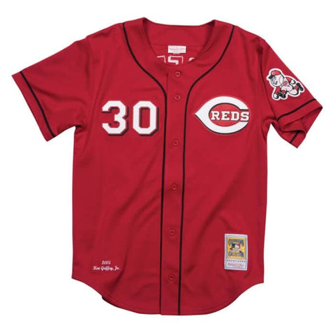 Ken Griffey Jr. 2005 Reds Alternate Authentic Jersey