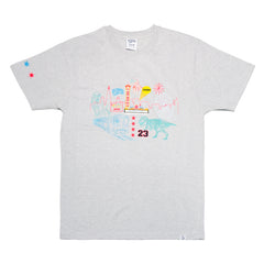 BBC X Welcome To Chicago Tee Grey - leaders1354