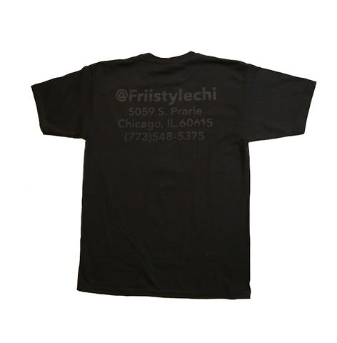 Friistylechi Tee Black - leaders1354