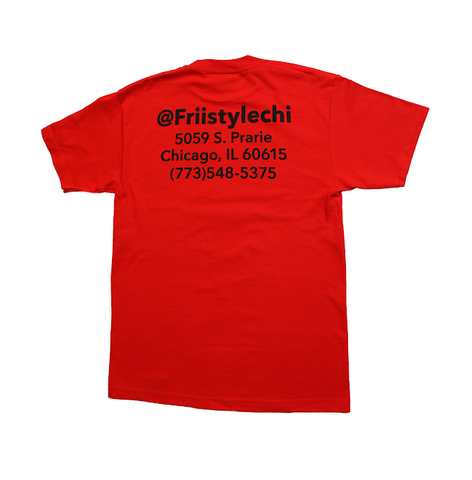 Friistylechi Tee Red - leaders1354