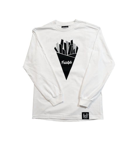 Friistylechi L/S tee White - leaders1354