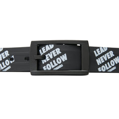 Lead Never Follow Belt - leaders1354