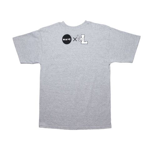 LDRSxMade Collab Tee Grey - leaders1354