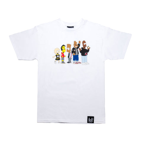LDRSxMade Collab Tee White - leaders1354