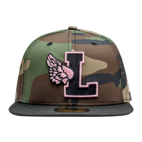 Leaders L Wing Logo Camouflage Fitted