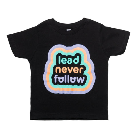 LDRS1354 X KIDOCHICAGO Black Tee - leaders1354