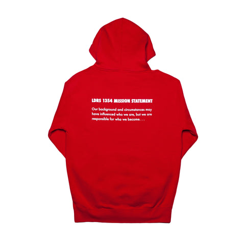 "Lead ""Mission Statement"" Pullover Red - leaders1354"