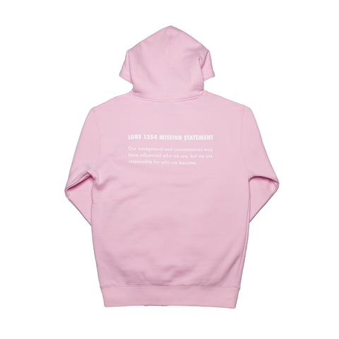 "Lead ""Mission Statement"" pullover Pink - leaders1354"
