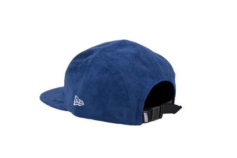Leaders All Blue Suede 5 Panel Hat
