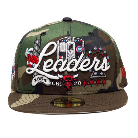 L-Train Camo All-Star Fitted - leaders1354