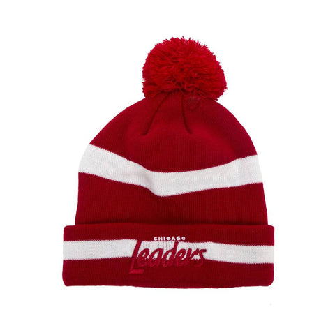 Leaders Chicago Stripped Skully Red/White