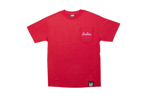 Leaders Cursive Pocket Tee