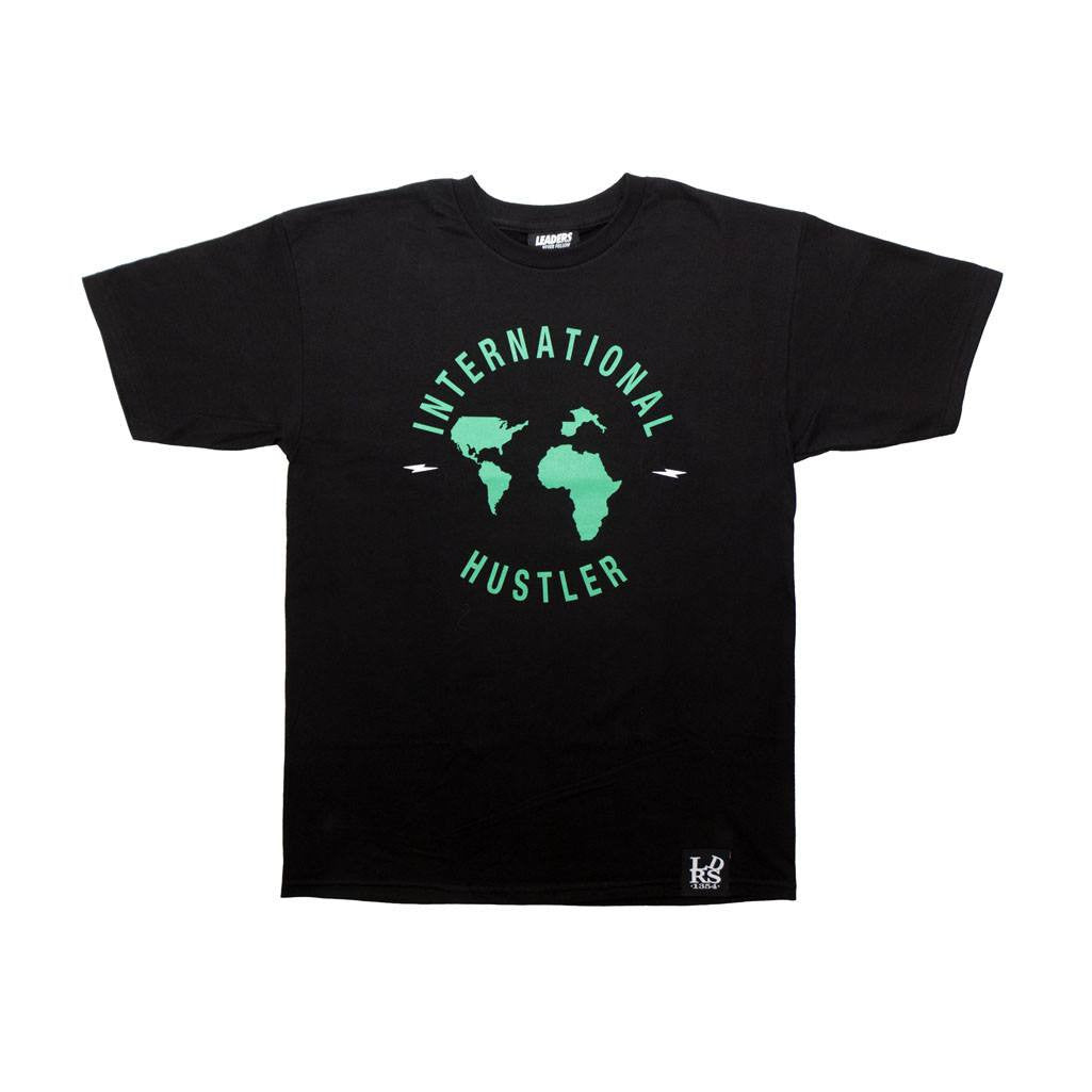 Leaders International Hustler Tee Black