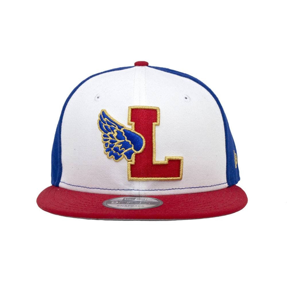 Leaders L Wing Red White Blue Snapback