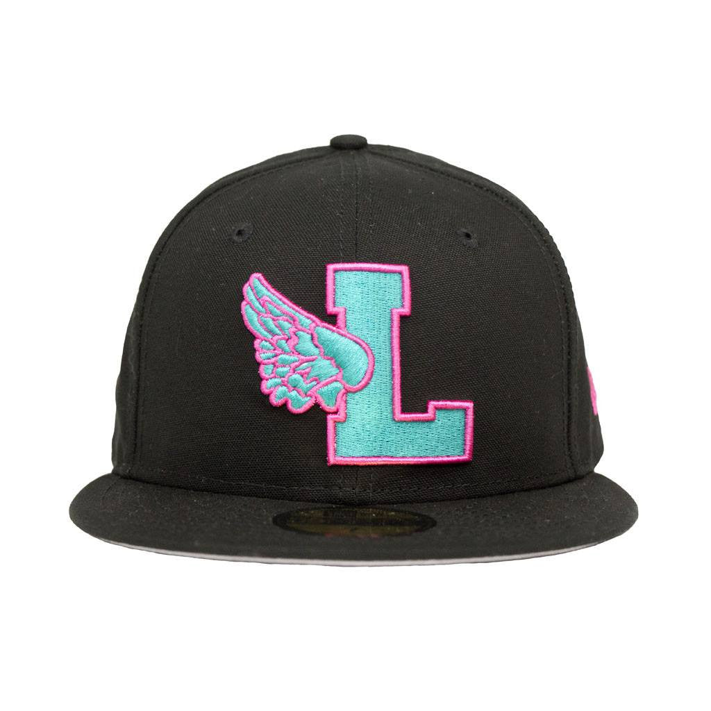Leaders L Wing Teal/Pink Fitted