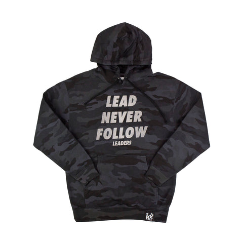 Lead Never Follow 3M Black Camo - leaders1354