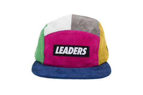 Leaders Magenta 5 Panel Hat