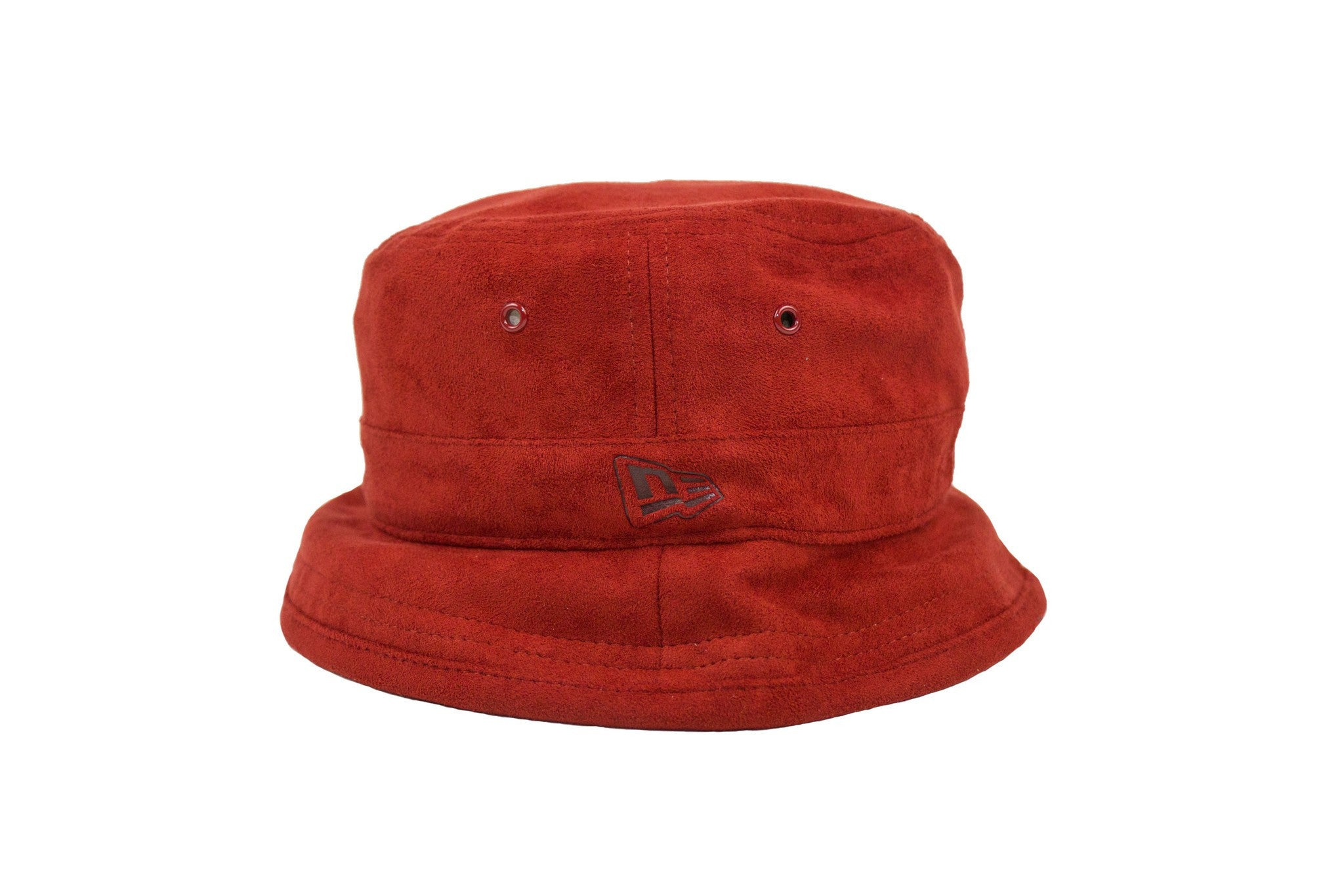 Red Suede Bucket Hat - leaders1354