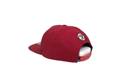 Leaders Red Savoy Snapback