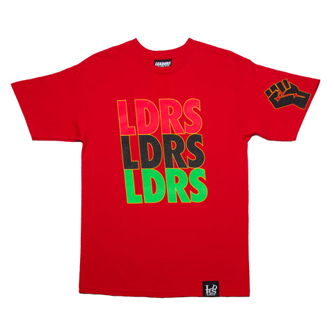 Leaders RBG Tee Red - leaders1354