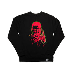 Malcolm X Crewneck Sweater - leaders1354